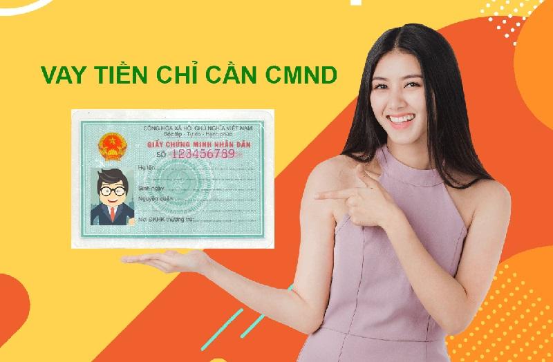 Lưu ý khi vay tiền bằng CMND